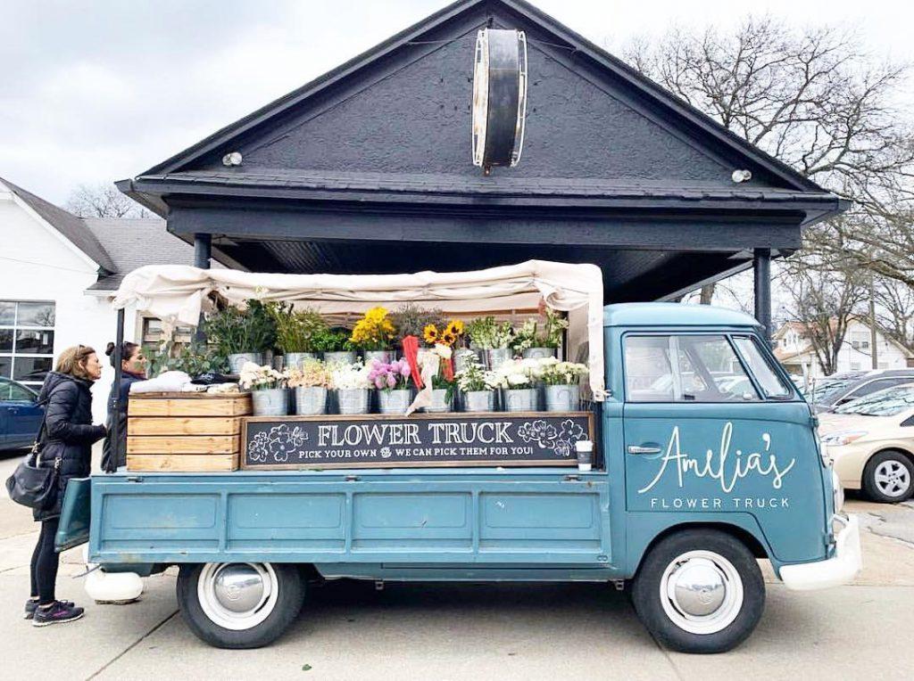Flower Truck in Nashville