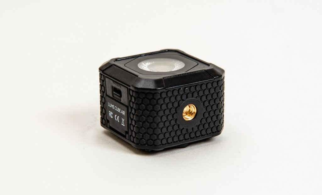 Side view of Lume Cube AIR