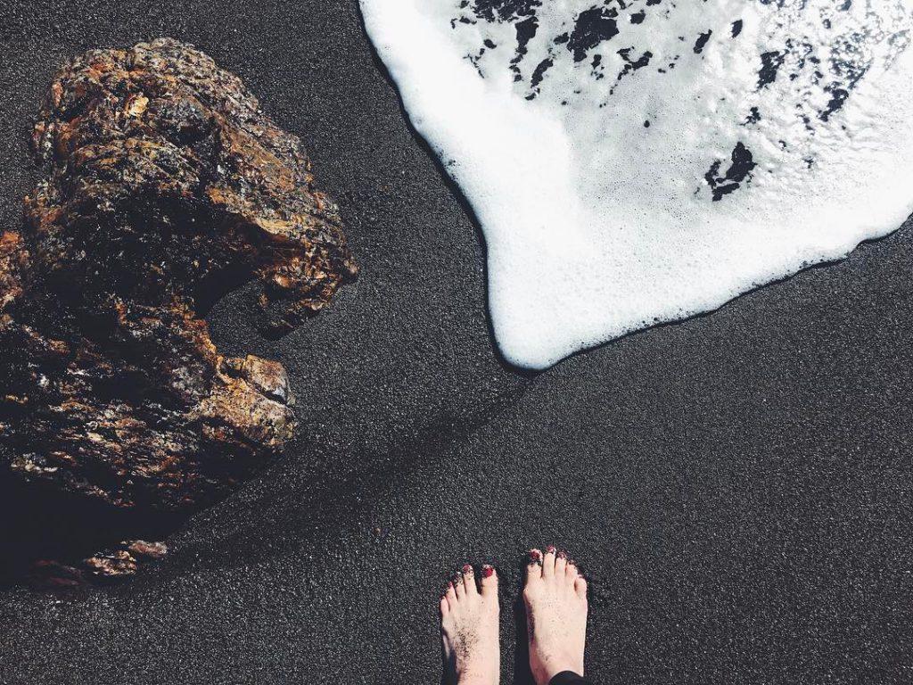 Black Sands Beach, California