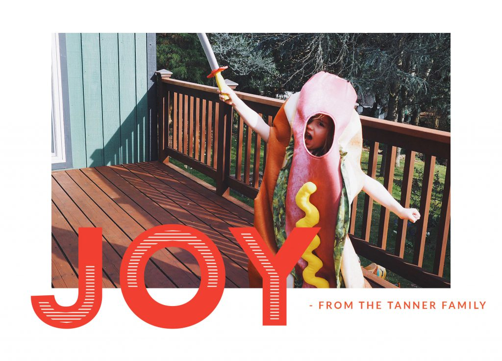 Joy To You And Me Nations Photo Lab Holiday Card