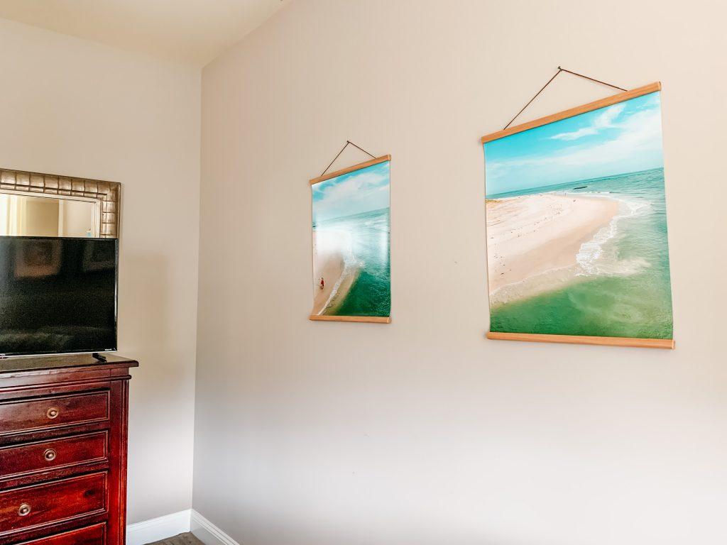 "20x24"" Prints hanging on wall"