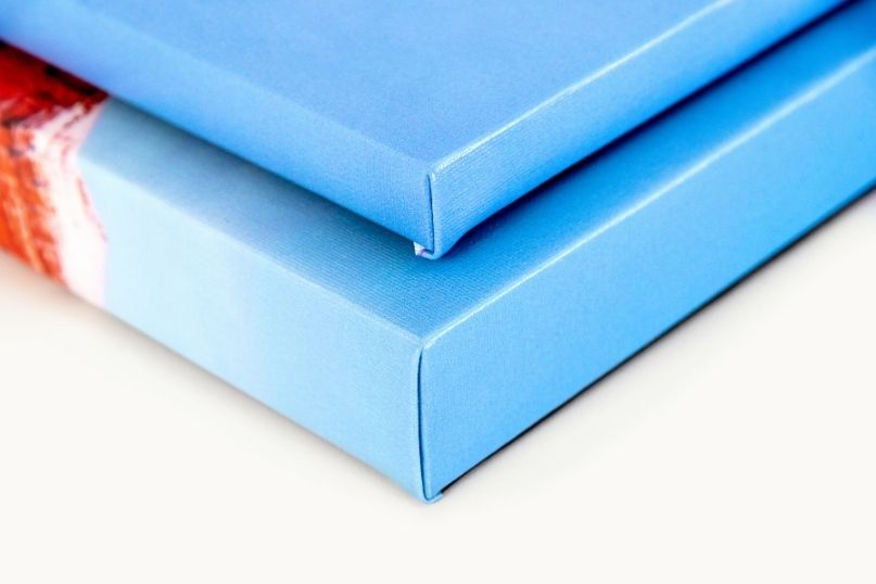 Different corner options for Canvas Prints
