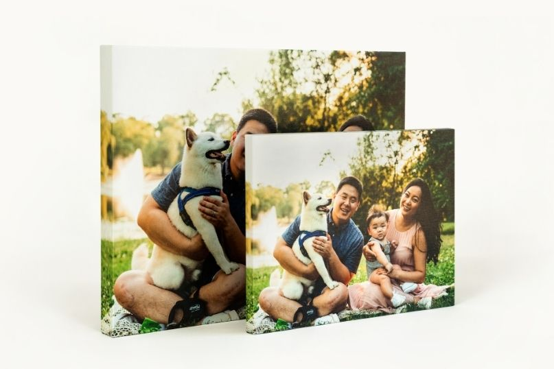 Canvas Prints standing up horizontally