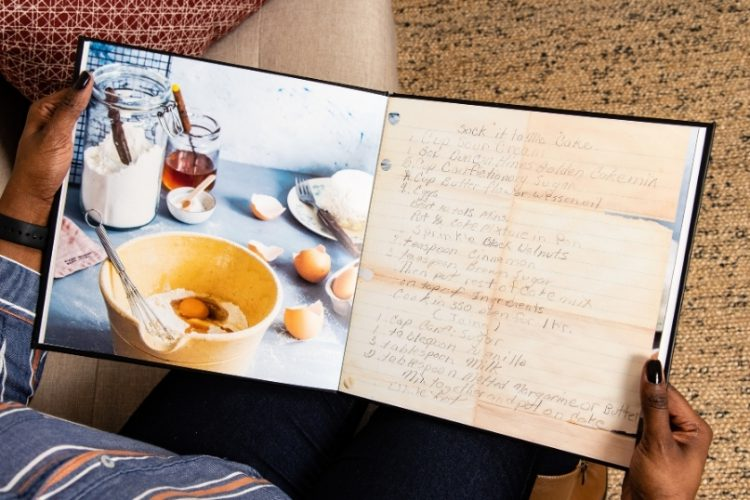 Create An Archival Family Recipe Book
