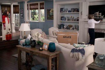 Grace & Frankie living room